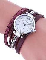 Жен. Модные часы Часы-браслет Уникальный творческий часы Имитационная Четырехугольник Часы Китайский Кварцевый Имитация Алмазный PU Группа