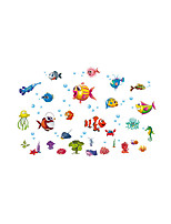 Wall Stickers Wall Decas Style Underwater World PVC Wall Stickers