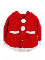 Girls' Solid Suit & Blazer,Cotton Polyester Fall Winter Long Sleeve