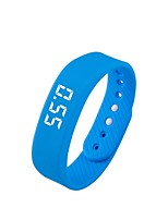 Women's Men' Wristband With Pedometer Waterproof Men Women Acticity Reminder Fitness Tracker For IOS And Android Sport Smart Bracelet