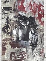 Декор стены Дерево Абстракция Ар деко / Ретро Винтаж Предметы искусства,1