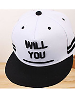 Unisex Polyester Nylon Spandex Baseball Cap,Hat Contemporary Simple Print Spring/Fall Pure Color