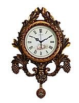 Модерн Традиционный Деревенский Повседневный Ретро Животные Настенные часы,Животный принт Резина В помещении Часы