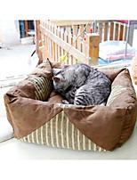 Dog Bed Pet Mats & Pads Brown