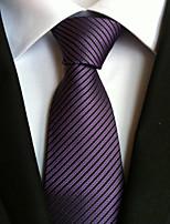 Men's Polyster Neck TieNeckwear Striped All Seasons W0073