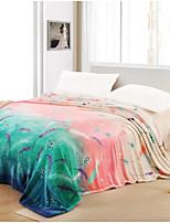 Super Soft Plants Polyester Blankets