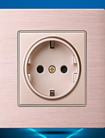 Электрические розетки Нержавеющая сталь Нет 8*8*4
