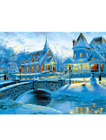 Jigsaw Puzzles Jigsaw Puzzle Building Blocks DIY Toys Dome Castle House Wooden