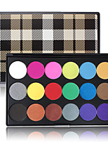 Best PRO Eyeshadow Makeup Palette 18 Colored Pigment Eyes Shadow Powder Matte Shimmer Smoky Cosmetic Halloween Case Kit