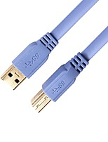 USB 3.0 Câble, USB 3.0 to USB Type B Câble Male - Male 1.0m (3ft)