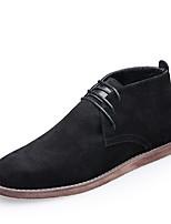 Men's Athletic Shoes Comfort Light Soles PU Summer Athletic Walking Comfort Light Soles  Flat Heel Black/Red Black/White Gray Flat