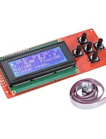 2004 LCD Smart Display Screen Controller Module with Cable for RAMPS 1.4 Arduino Mega Pololu Shield Arduino Reprap 3D Printer Kit Accessor