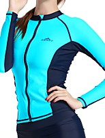 New Diving Suit Split Female Long Sleeve Zipper Diving Suit Jellyfish Clothing Surfing Suit Female Split Sunscreen Swimsuit
