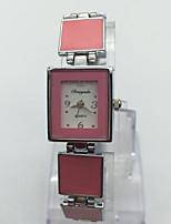 Women's Wrist watch Bracelet Watch Chinese Quartz Alloy Band Casual Silver