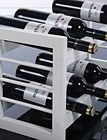 European Simple And Beautiful White Wine Racks