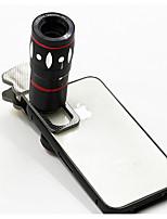 10x multifonctionnel 4 in1 caméra externe grand angle macro fisheye téléobjectif pour téléphone portable