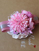 Wedding Flowers Grace Roses Wrist Corsages Wedding / Special Occasion Satin / Fabric The Bride's Wrist Flower