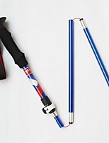 5 Nordic Walking Poles 125cm Simple Durable Tungsten Aluminum Alloy Camping & Hiking Outdoor Exercise