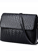 Women Bags All Seasons PU Shoulder Bag with for Wedding Event/Party Casual Formal Office & Career Black