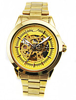 Муж. Модные часы Механические часы С автоподзаводом сплав Группа Золотистый