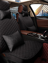 Car Seat Cushion Seat Cover Seat Four Seasons General Flax Surrounded By A Five Seat Family Car To Send 2 Head 2 Waist Black