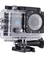 Andoer Q3H 2 Ultra-HD LCD 4K 25FPS 1080P 60FPS Wifi Cam FPV Video Output 16MP Action Camera 170Wide-Angle Lens with Diving 30-meter Waterproof Case
