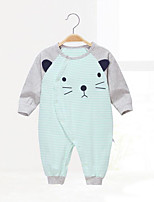 Baby Geometic One-Pieces,Cotton Spring/Fall