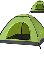 3-4 persons Tent Single Automatic Tent One Room Camping Tent 1500-2000 mm Oxford Waterproof Windproof Sun Protection Anti-tear Sunscreen-