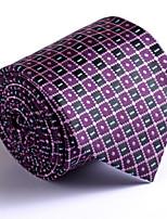 Homme Bureau / Affaires Mariage Autres Cravate,Imprimé
