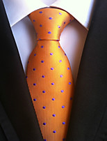 Men's Polyster Neck TieNeckwear Polka Dot All Seasons W0066