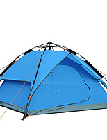 3-4 personnes Accessoires de tente Abri et Toile Double Tente de camping Tente pliable Pare-vent Respirable Pliable Tente Pliant Extérieur