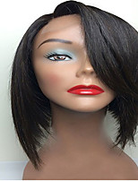 For Black Women Short Bob Wigs Indian Human Virgin Hair Glueless Full Lace Wigs Side Part Soft Feel Big Discount