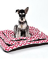 Dog Bed Pet Mats & Pads Stripe Soft Washable Blushing Pink Blue Yellow