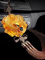 Diy automobile pendentifs intérieurs pendentif brave pendentif voiture&Ornements glaçage coloré