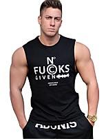 Homens Respirabilidade Redutor de Suor Camiseta para Correr Casual Fitness Verão M L XL XXL