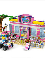 Building Blocks For Gift  Building Blocks House Plastics ABS 6 Years Old and Above Toys