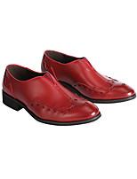 Для мужчин Ботинки Удобная обувь Светодиодные подошвы Формальная обувь Искусственное волокно Осень Зима Повседневные Для вечеринки / ужина