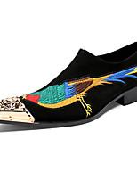 Для мужчин Туфли на шнуровке Удобная обувь Оригинальная обувь Формальная обувь Весна Осень Замша Свадьба Для вечеринки / ужина ЗаклепкиНа
