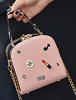 Women Bags All Seasons PU Tote with Zipper for Event/Party Casual Sports Office & Career Outdoor Black Red Blushing Pink