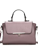 Women's Shoulder Bag PU All Seasons Dailywear Baguette Magnetic Ruby Black White Clover