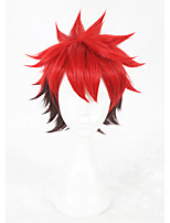 14inch Short Red&Brown Mixed A3 Taichi Nanao Wig Synthetic Anime Cosplay Wigs CS-336E