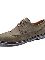 Для мужчин обувь Нейлон Осень Зима Удобная обувь Формальная обувь Туфли на шнуровке Для прогулок Шнуровка Назначение Свадьба Повседневные