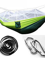 Camping Hammock with Mosquito Net Collapsible Nylon for Camping Camping / Hiking / Caving Outdoor