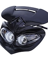 CARKING Universal LED Motorcycle Headlight Enduro Cross Lamp - Black