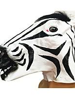 Маски на Хэллоуин Животная маска Зебра Тема ужаса Универсальные