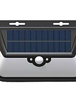 2017 New Solar Triangle Wall Lamp Waterproof Led Human Body Sensor Lights Outdoor Courtyard Landscape Wall Lights