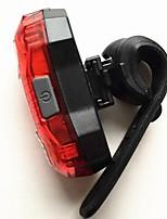 Задняя подсветка на велосипед LED LED Велоспорт На открытом воздухе Подсветка USB Люмен USB красныйПовседневное использование