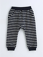 Boys' Stripes Pants-Cotton Spring Fall