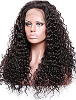 Premier®Affordable 100%Brazilian Unprocessed Virgin Human Hairs Curly Glueless Full Lace Wigs With Baby Hair Bleached Knots Hairline For Women