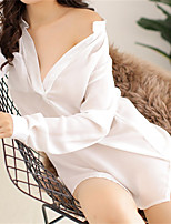 Women's Ultra Sexy Nightwear,Sexy Solid-Thin Polyester